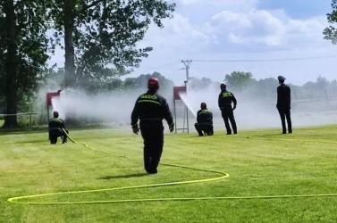 26 év után újra Csilizpatason tartották az önkéntes tűzoltók kerületi versenyét