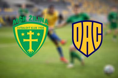 Fortuna Liga: MŠK Žilina – FC DAC 1904 0:2 (Online)