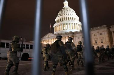 Fokozott készültségbe helyezték a rendvédelmi szerveket a Capitoliumnál