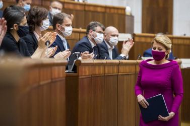 Čaputová országértékelést tart jövő héten a parlamentben