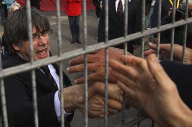 Olaszországban letartóztattáka voltkatalán elnököt
