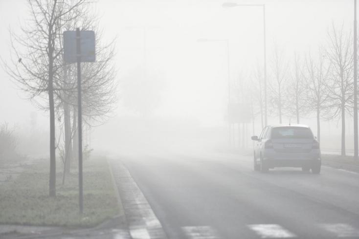 IDŐJÁRÁS: Pénteken köd várható az ország nagy részén
